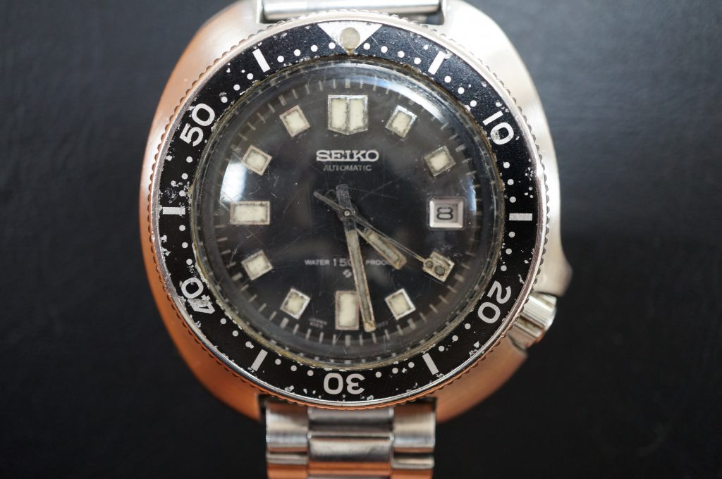 No.1310  SEIKO (セイコー) 自動巻き腕時計を修理しました
