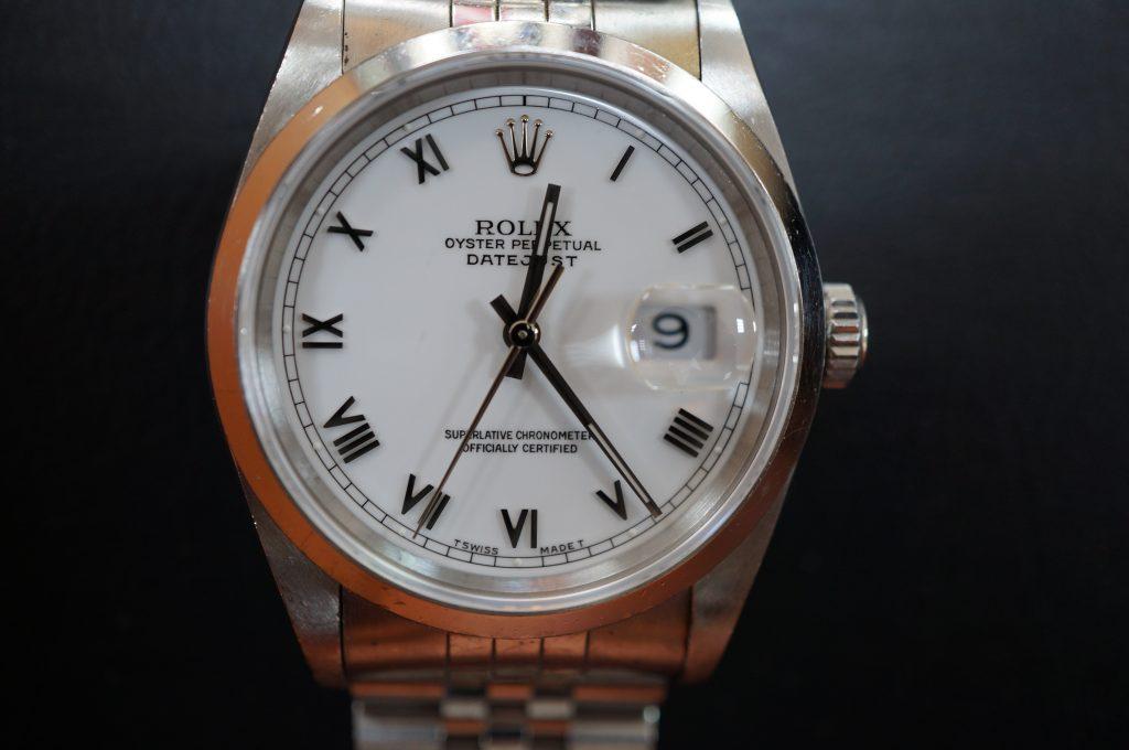 No.1296  ROLEX (ロレックス ) 自動巻き腕時計を修理しました