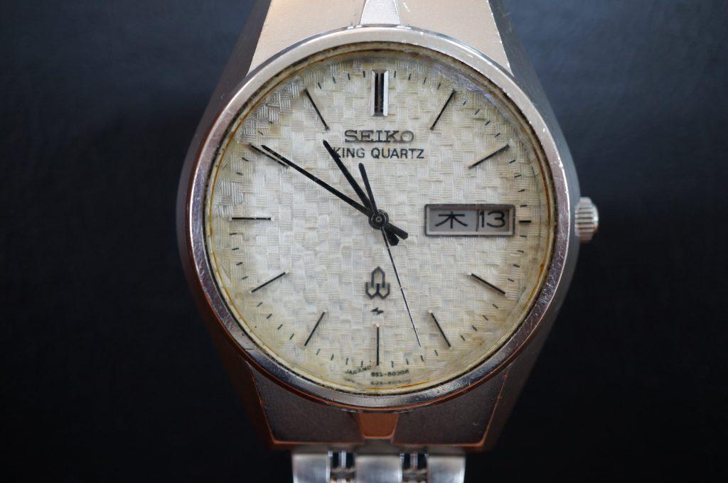 No.1311  SEIKO (セイコー) クォーツ式 腕時計を修理しました