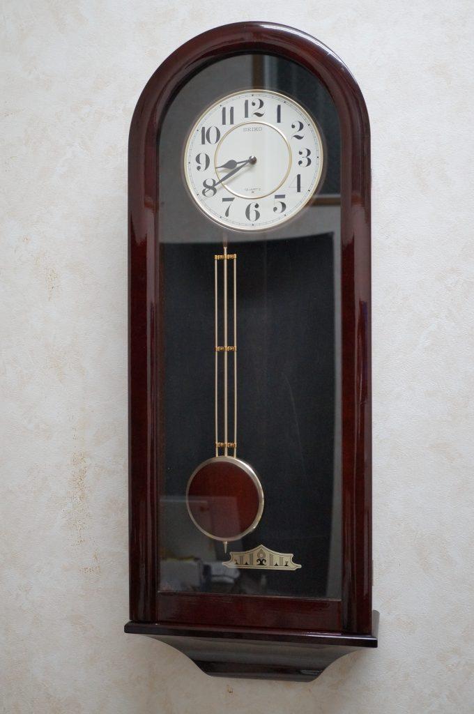 No.1294  SEIKO (セイコー) クォーツ式 掛時計を修理しました