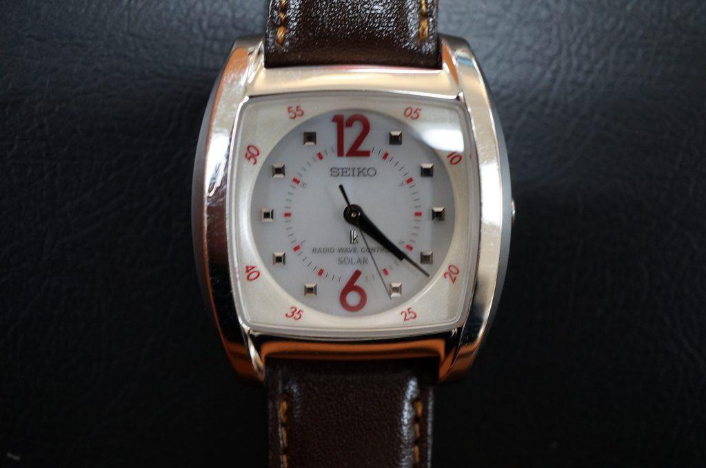 No.1293  SEIKO (セイコー) ソーラー電波式腕時計を修理しました