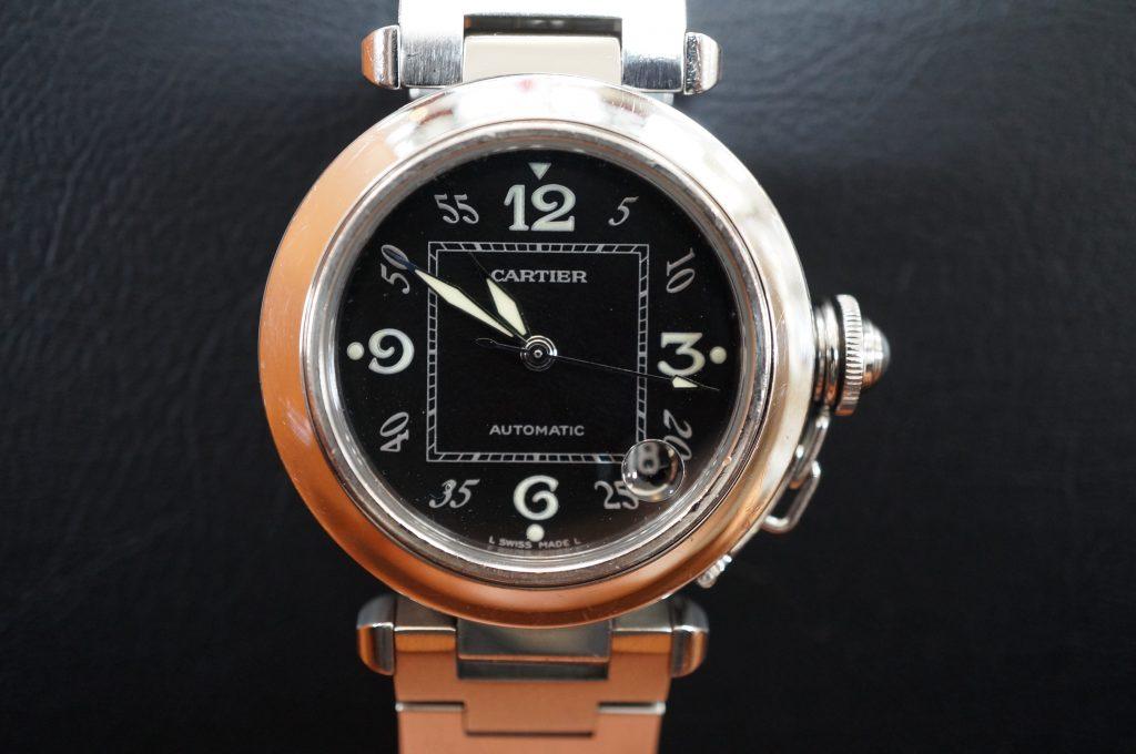 No.1318  CARTER (カルティエ ) 自動巻き腕時計を修理しました