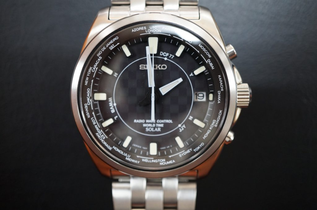 No.1273  SEIKO (セイコー) ソーラー電波式腕時計を修理しました