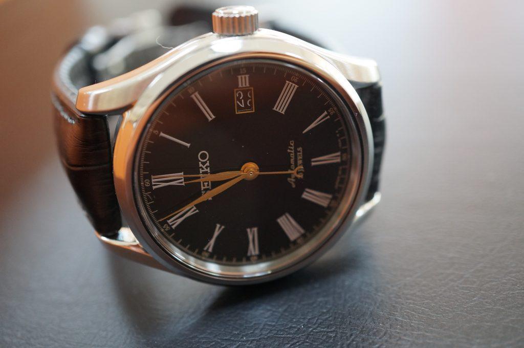 No.1291  SEIKO (セイコー) 手巻式腕時計を修理しました