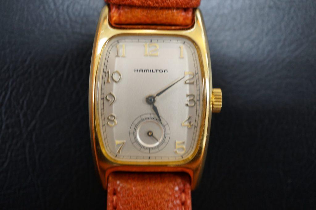 No.1274  HAMILTON (ハミルトン) 電池式 腕時計を修理しました