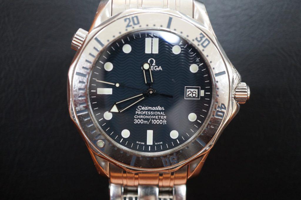 No.1278  OMEGA Seamaster (シーマスター) 自動巻き腕時計を修理しました