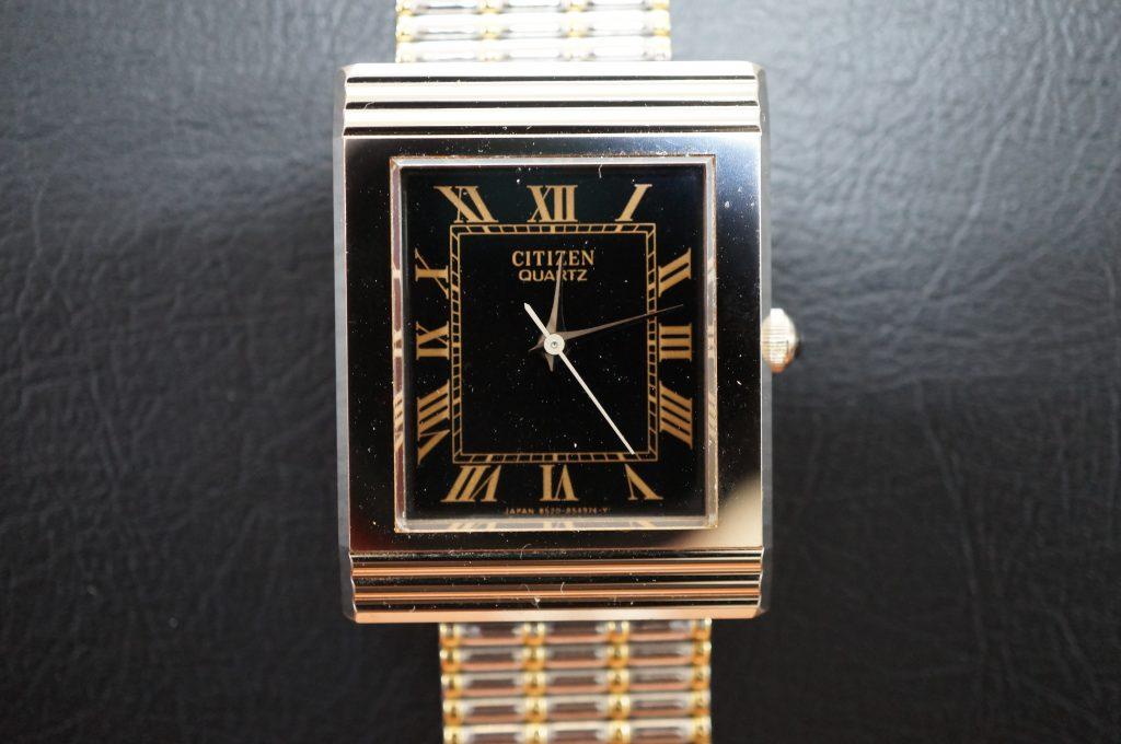 No.1272  CITIZEN  (シチズン ) クォーツ式 腕時計を修理しました