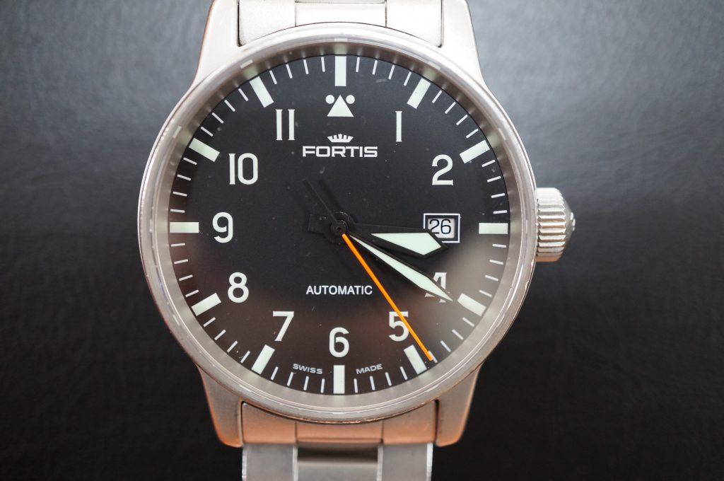 No.1276  FORTIS (フォルティス ) 自動巻き腕時計を修理しました