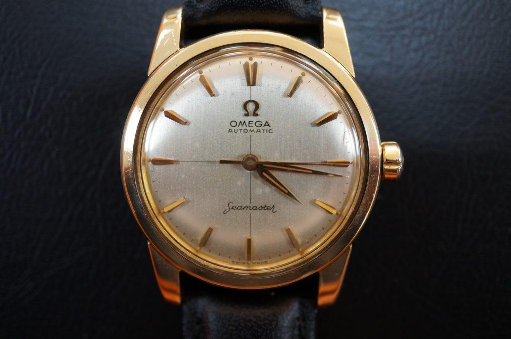 No.1328  OMEGA Seamaster (シーマスター) 自動巻き腕時計を修理しました