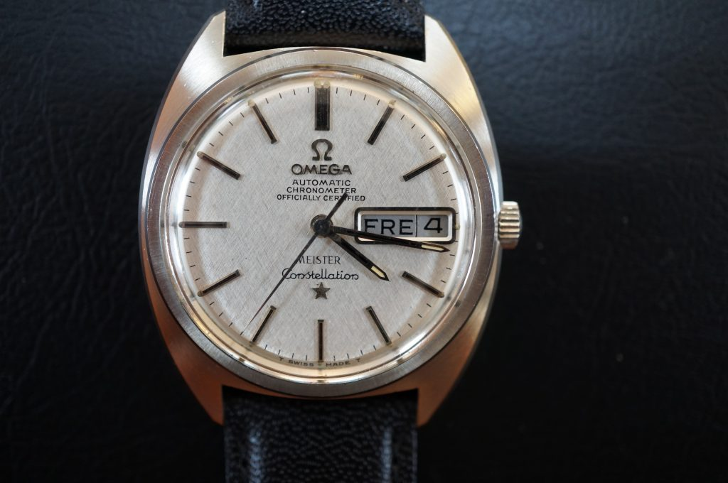 No.1327  OMEGA CONSTELLATION (コンステーション) 自動巻き腕時計を修理しました