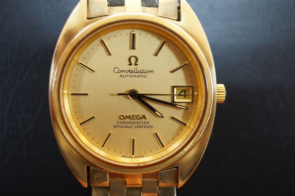 No.1326  OMEGA CONSTELLATION (コンステーション) 自動巻き腕時計を修理しました