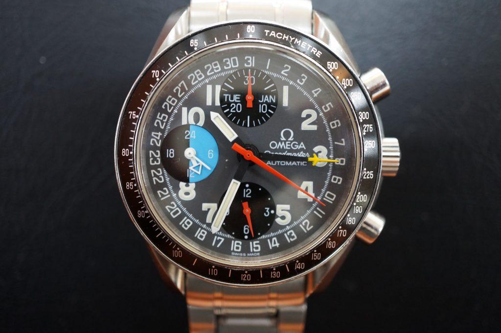 No.1330  OMEGA Speedmaster (オメガスピードマスター) 自動巻き腕時計を修理しました