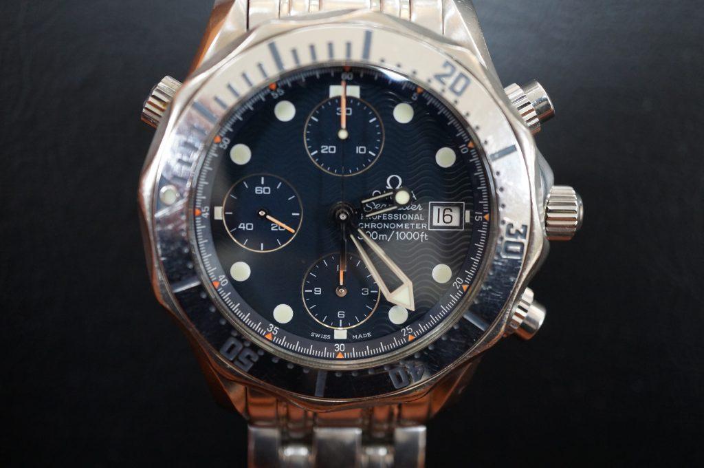 No.1344  OMEGA Seamaster (シーマスター) 自動巻き腕時計を修理しました
