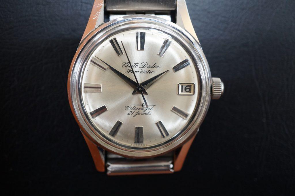 No.1340  CITIZEN Auto Dater (シチズン) 手巻き式腕時計を修理しました