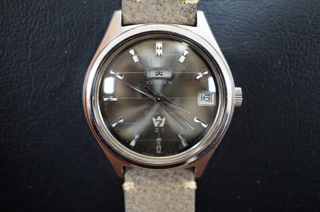 No.1341  CITIZEN  (シチズン クリスタルセブン) 手巻き式腕時計を修理しました