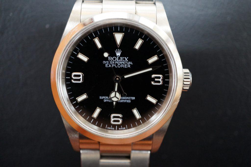 No.1343  ROLEX (ロレックス エクスクローラ1) 自動巻き腕時計を修理しました