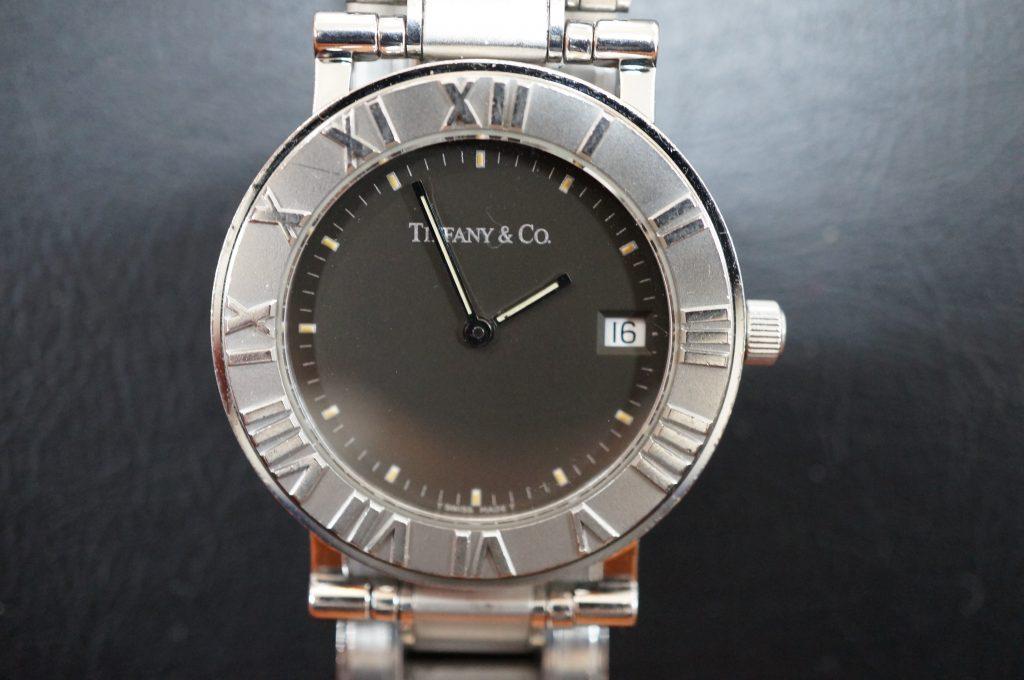 No.1345  TIFFANY & Co. (ティファニー) クォーツ式腕時計を修理しました