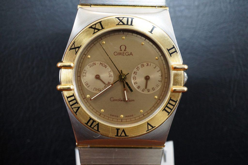 No.1346  OMEGA CONSTELLATION (コンステーション) クォーツ式腕時計を修理しました