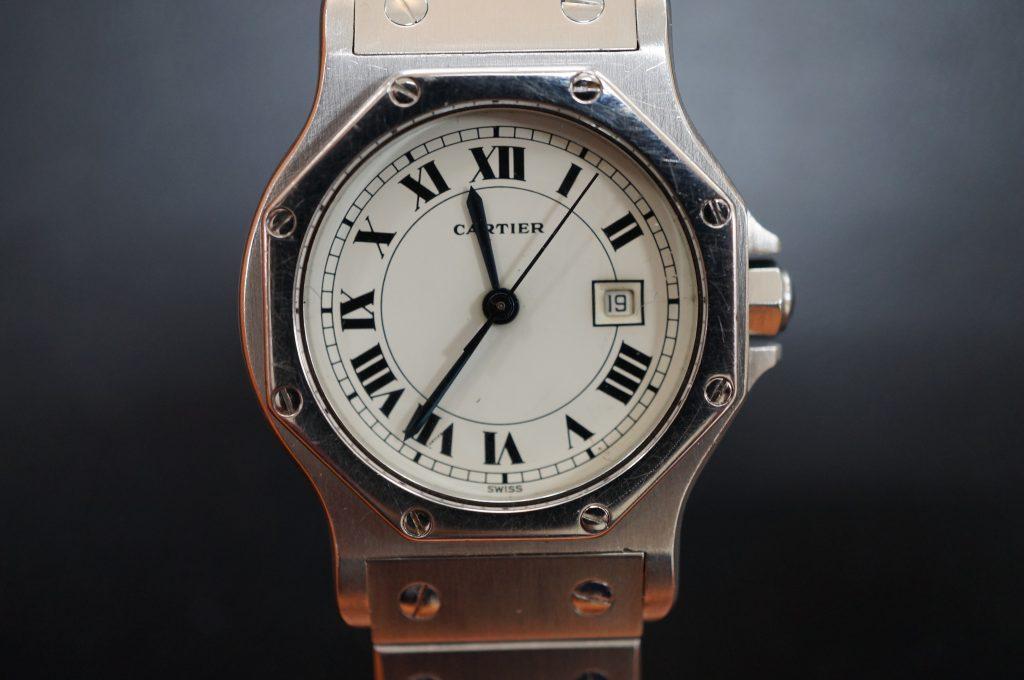 No.1360  CARTER (カルティエ ) 自動巻き腕時計を修理しました