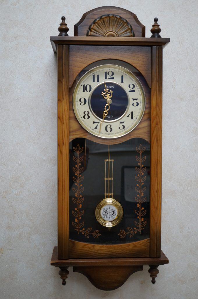 No.1361  SEIKO (セイコー) クォーツ式 掛け時計を修理しました