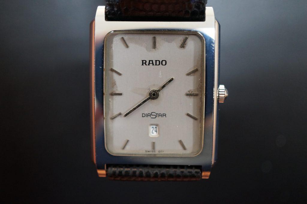 No.1385  RADO (ラドー) クォーツ式 腕時計を修理しました