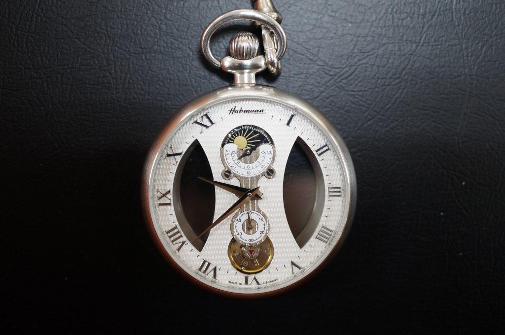 No.1369  Habmann  (ハツフマン) 手巻き式 懐中時計を修理しました