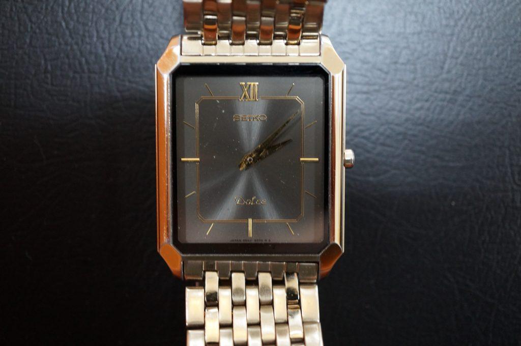 No.1362  SEIKO Dolce (セイコー ドルチェ) クォーツ式 腕時計を修理しました