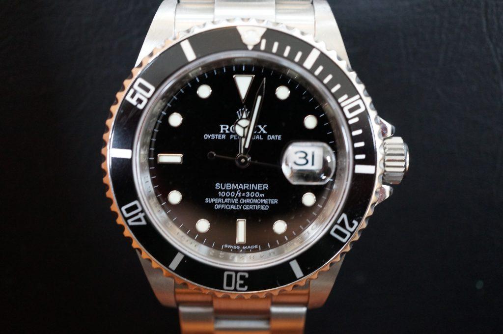 No.1365  ROLEX (ロレックス ) 自動巻き腕時計を修理しました