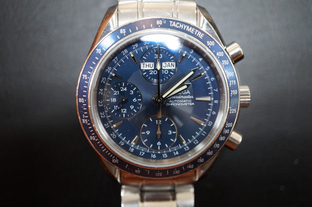 No.1363  OMEGA Speedmaster (オメガスピードマスター) 自動巻き腕時計を修理しました