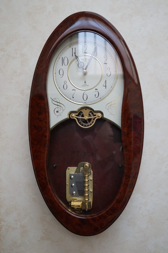 No.1387  CITIZEN  (シチズン ) クォーツ式 掛け時計を修理しました