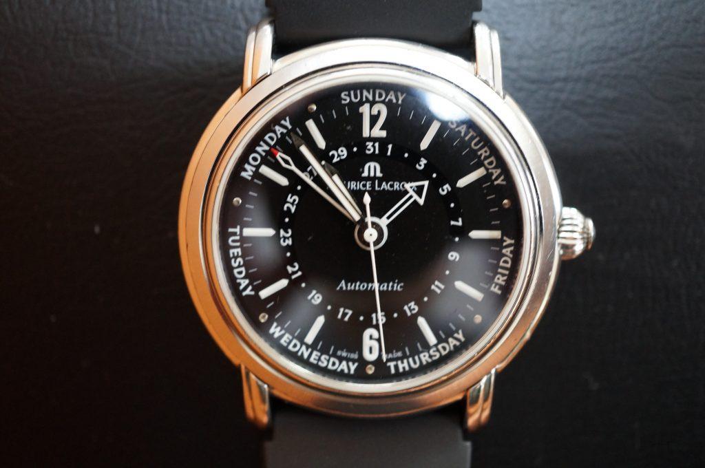No.1390  MAURICE LACROIX(モーリス・ラクロア) 自動巻き腕時計を修理しました