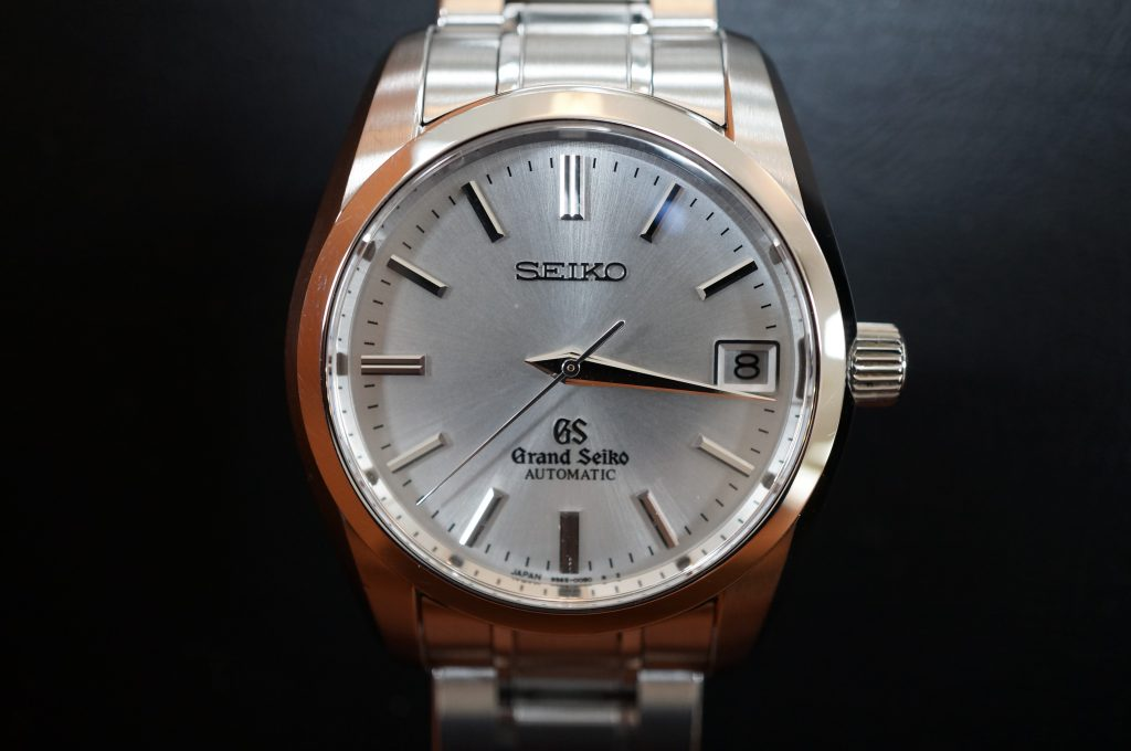 No.1402  SEIKO GS (グランドセイコー) 自動巻き腕時計を修理しました