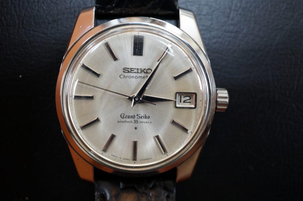 No.1409  SEIKO GS (グランドセイコー) 自動巻き腕時計を修理しました