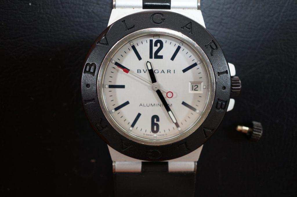 No.1407  BVLGARI (ブルガリ ) 自動巻き 腕時計を修理しました