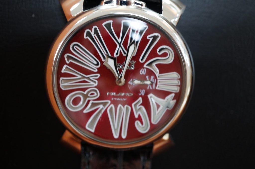 No.1404  GaGA MIRANO (ガガミラノ) 手巻き式腕時計を修理しました