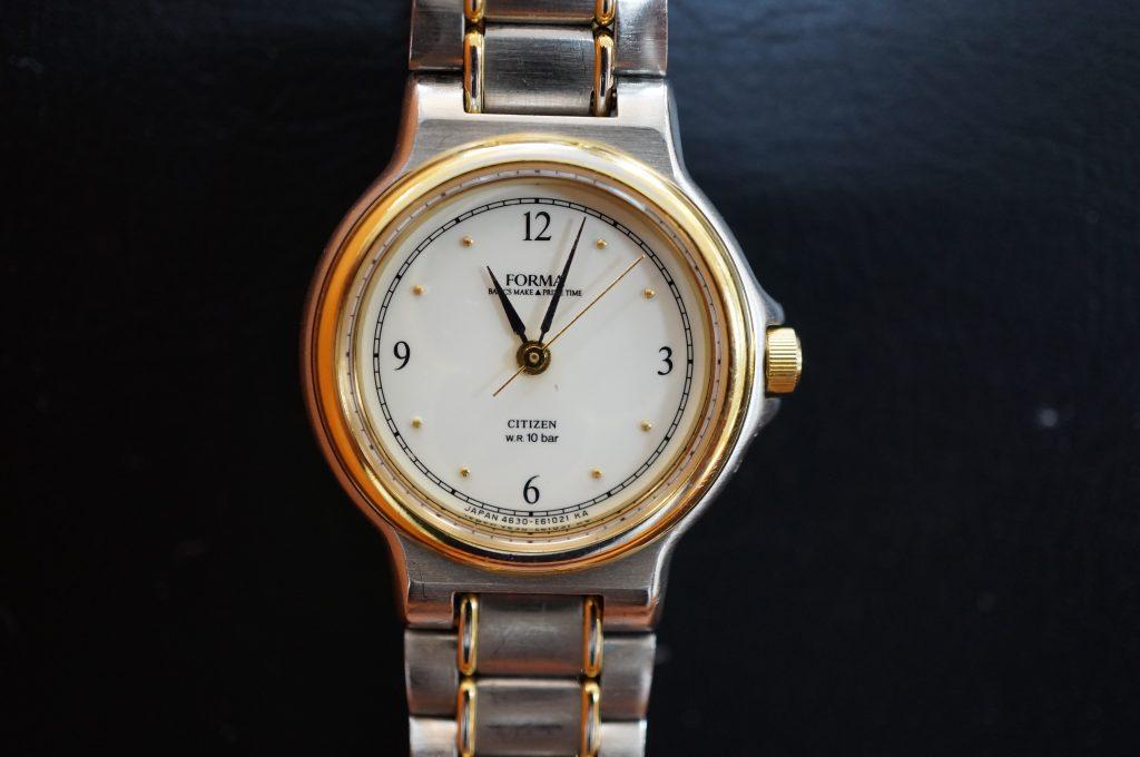 No.1405  CITIZEN  (シチズン ) クォーツ式 腕時計を修理しました