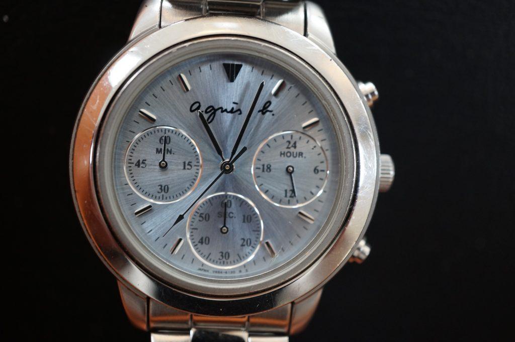 No.1405  agnes b.  (アニエスベー ) クォーツ式 腕時計を修理しました