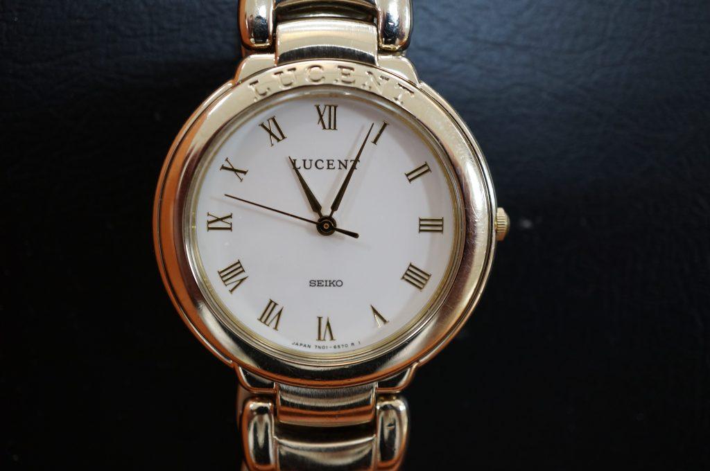 No.1406  CITIZEN  (シチズン ) クォーツ式 腕時計を修理しました