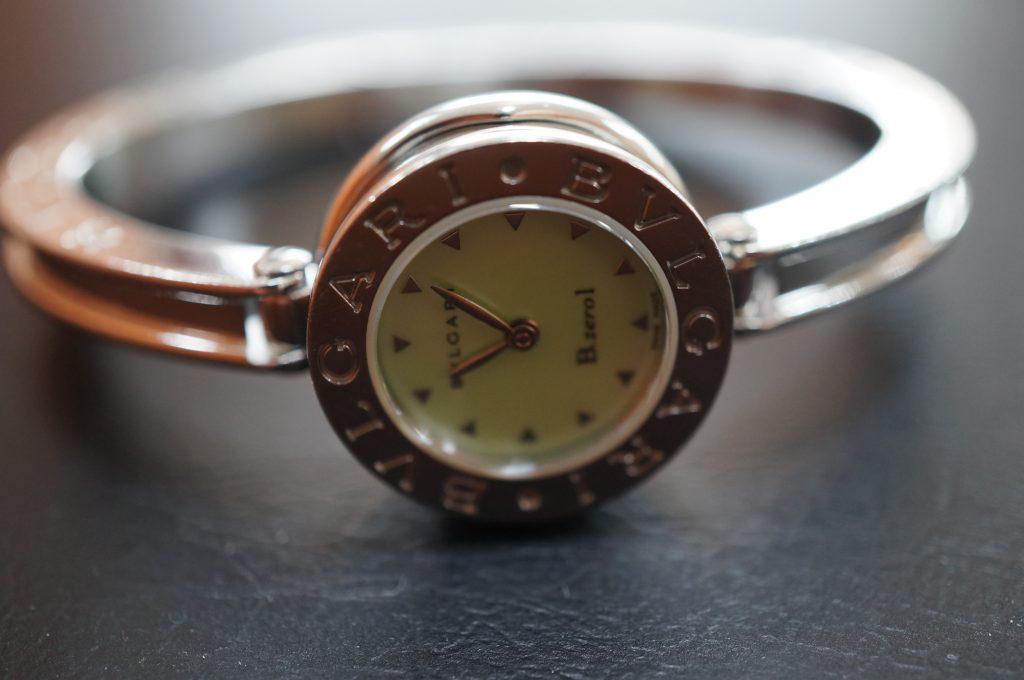No.1408  BVLGARI (ブルガリ ) クォーツ式 腕時計を修理しました