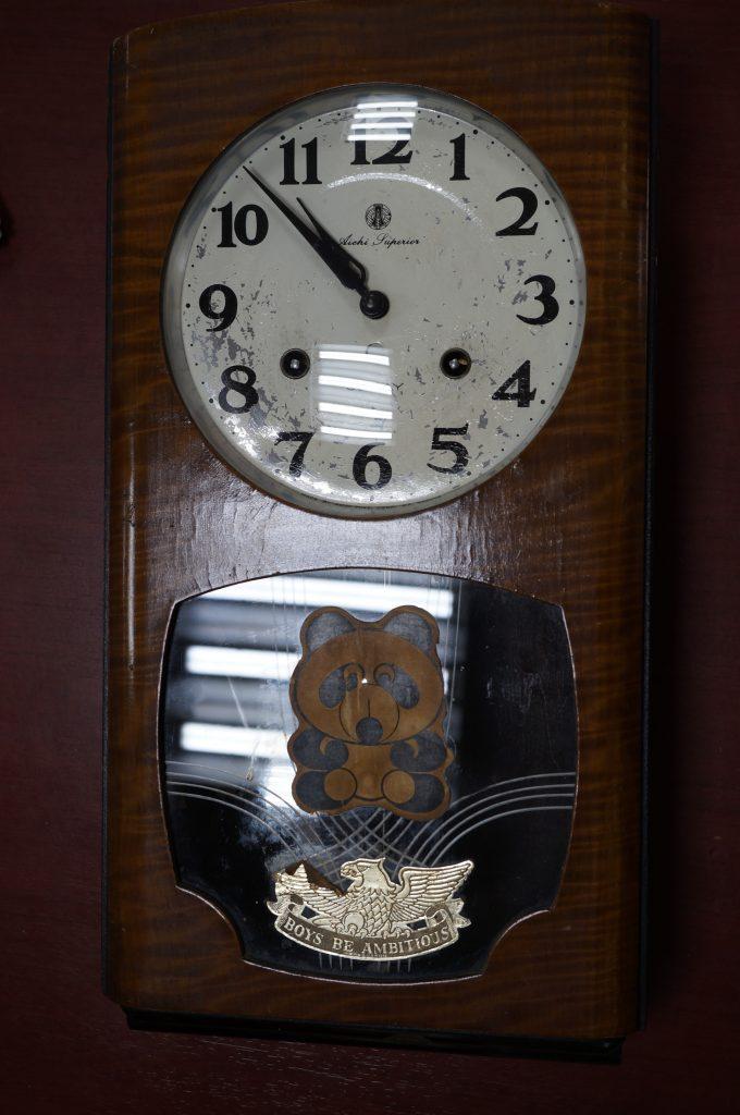 No.1423  SEIKO (セイコー)  ゼンマイ式 掛け時計を修理しました