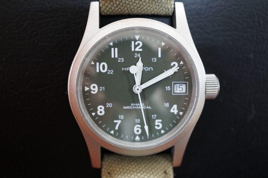 No.1422  HAMILTON (ハミルトン) 手巻き式 腕時計を修理しました