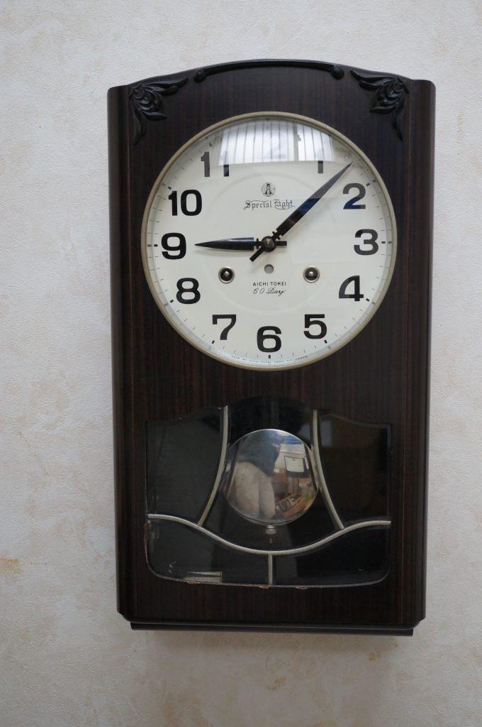 No.1421  SEIKO (セイコー)  ゼンマイ式 掛け時計を修理しました