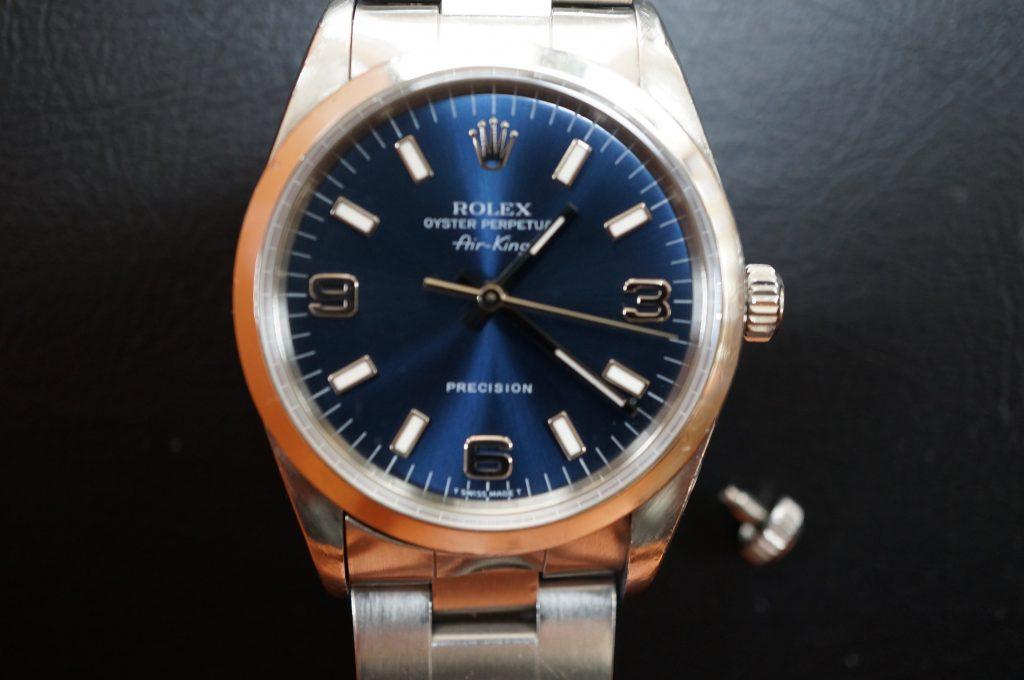 No.1430  ROLEX (ロレックス ) 自動巻き腕時計を修理しました