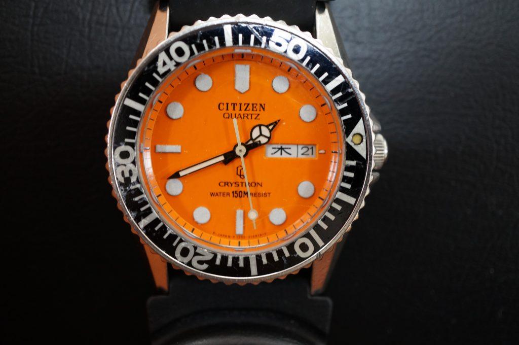 No.1424  CITIZEN  (シチズン ) クォーツ式 腕時計を修理しました