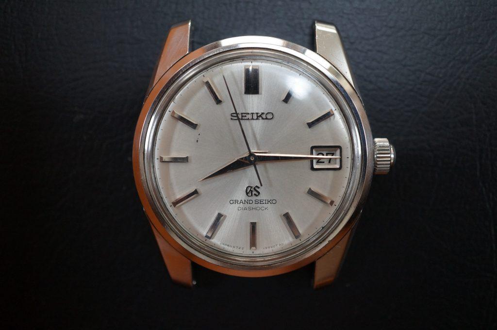 No.1442  SEIKO GS (グランドセイコー) 自動巻き腕時計を修理しました