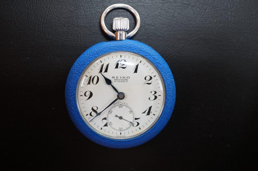 No.1440  SEIKO (セイコー)  手巻き式 懐中時計を修理しました