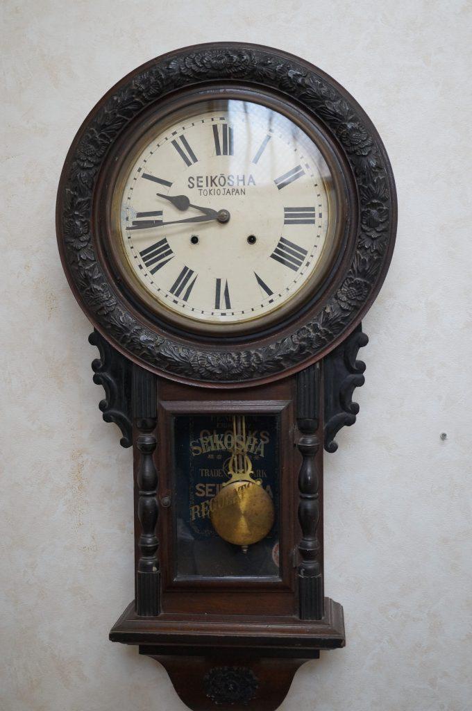 No.1441  SEIKO (セイコー)  ゼンマイ式 掛け時計を修理しました