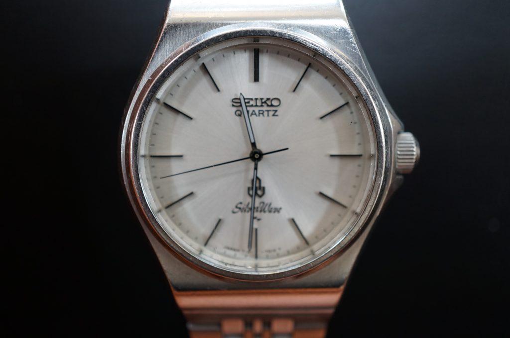 No.1450  SEIKO (セイコー) クォーツ式 腕時計を修理しました
