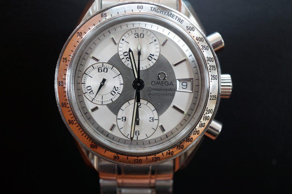 No.1449  OMEGA Speedmaster (オメガスピードマスター) 自動巻き腕時計を修理しました