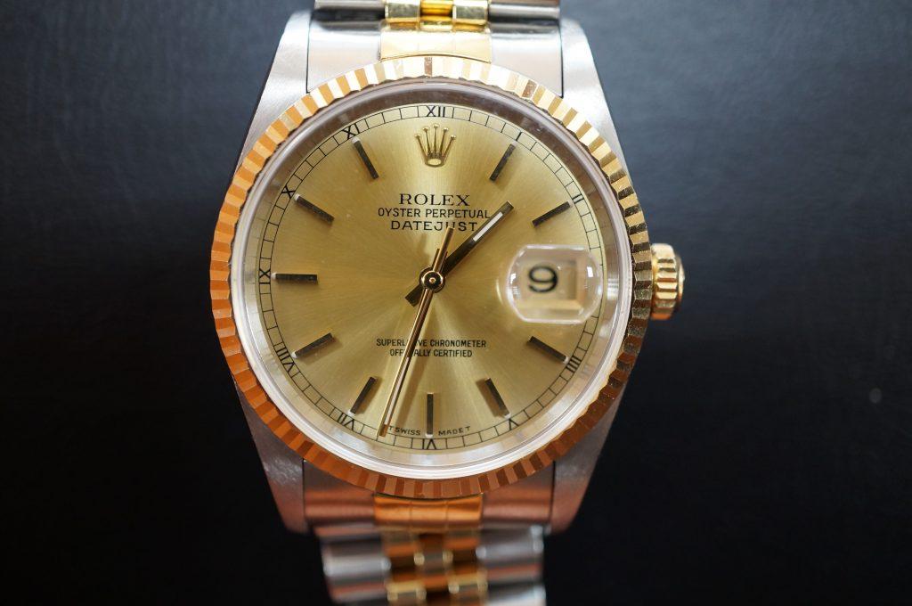 No.1445  ROLEX (ロレックス ) 自動巻き腕時計を修理しました